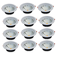 Led-Nedlys Varm hvit Kjølig hvit LED 12 stk