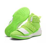 ieftine Basket-Pentru femei Pantofi PU Primăvară / Toamnă Confortabili Adidași de Atletism Basket Toc Drept Vârf rotund Cârlig & Buclă Albastru / Roz /