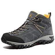 baratos Sapatos Masculinos-Homens Camurça Outono / Inverno Conforto Botas Aventura Botas Curtas / Ankle Cinzento / Khaki