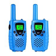 Walkie talkies for børn 22 kanal micro usb opladning 2 vejs radio 3 miles (op til 5miles) frs / gmrs håndholdte mini walkie talkies til