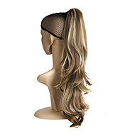 Middle Long Curly Claw Ponytail Clip in Hair Extensions Hairpiece Pony Tail Blonde Brown Synthetic Hair Accessories