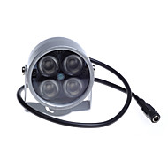 Luz de visão noturna iluminada de iluminação de luz led de 48 horas para câmera de segurança cctv
