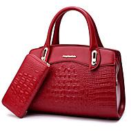Damen Taschen PU Bag Set für Hochzeit Veranstaltung / Fest Normal Formal Ganzjährig Blau Schwarz Rote