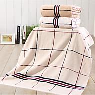 billige -Badehåndkle,Rutete Høy kvalitet 100% Bomull Håndkle