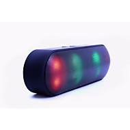 HY-BT808N Estilo Mini Bluetooth Luzes Bluetooth 2.1 3.5mm Branco Preto Laranja Rosa cor de Rosa Azul Claro