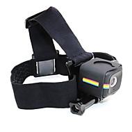 Remeni za glavu Sklopivo Non-Slip Jebeš-u Otporne na nošenje Za Akcija kamere Polaroid kocka Rekreativna vožnja biciklom Camping &