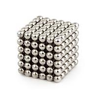 64 pcs 4mm Magnetiske puslespil Magnetiske kugler / Byggeklodser / Puslespil Cube Stress og angst relief / Lindrer ADD, ADHD, angst, autisme / Magnetisk Gave