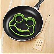 halpa -silikoni sammakko muna paistettu homeen muotit shaper poucher pannukakku rengas keittiö työkalu