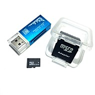 8GB microsdhc tfメモリーカード(1つのUSBカードリーダーとsdhc sdアダプター)