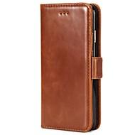 Etui Käyttötarkoitus Samsung Galaxy S8 Plus S8 Lomapkko Korttikotelo Tuella Flip Kokonaan peittävä Yhtenäinen väri Kova PU-nahka varten
