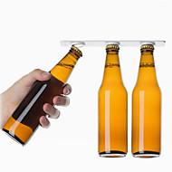 2pcs suspensão de garrafa magnética organizador de armazenamento de cerveja suporte de garrafa de garrafa loft