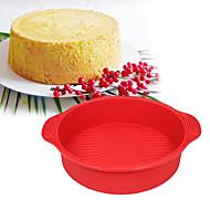 1 Deler Cake Moulds Sirkelformet Dagligdags Brug baking Tool