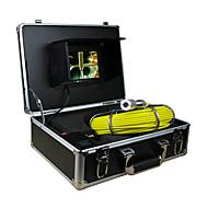 "endoscoop pipeline inspectiesysteem 7"" 30m drain riool waterdichte camera met 12 LED-verlichting"