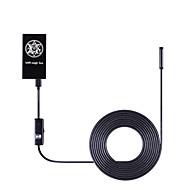 billige Utendørs IP Nettverkskameraer-1,0 mp mini utendørs endoskop borescope med dag natt (vanntett wi-fi beskyttet oppsett)