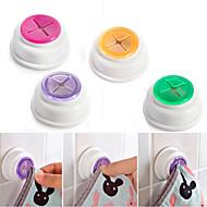 Rubber zuigkussen doek thee handdoek houder rubber duw in zelfklevende rug 1 stuks