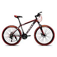 Mountain Bike Ciclismo 21 Velocità 26 pollici / 700CC SHIMANO EF-51-7 Doppio disco freno Forcella Ammortizzata Anti-smorzamento Semplici / Anti-scivolo Lega di alluminio