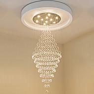 Moderne ledet krystall tak anheng lys moderne lysekroner hjem hengende led belysning lysekrone lamper inventar