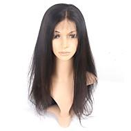 Hot 360 blonde frontal human hair blonde parykker 150% tæthed lige hår 8 '' - 22 '' 360 blonder parykker med baby hår