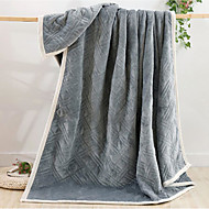 cheap Blankets & Throws-Flannel Solid 100% Cotton Blankets