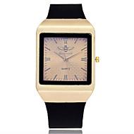 Heren Dress horloge Modieus horloge Polshorloge Unieke creatieve horloge Vrijetijdshorloge Chinees Kwarts Kalender Grote wijzerplaat Leer