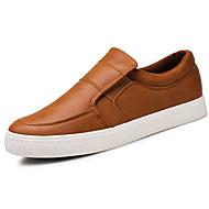 Homme Chaussures PU de microfibre synthétique Printemps Automne Confort Semelles Légères Mocassins et Chaussons+D6148 Pour Décontracté