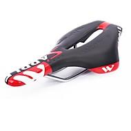 WEST BIKING® Σέλα ποδηλάτου Αντιολισθητικά Λείαντο Ποδηλασία Ποδηλασία / Ποδήλατο Ποδήλατο Μαύρο / Κόκκινο