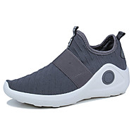 Men's Shoes Fabric Spring Fall Comfort Light Soles Athletic Shoes For Casual Red Gray Black