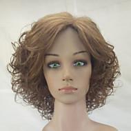 Sintetičke perike Kovrčav Sintentička kosa Srednji dio Smeđa Perika Žene Medium Prirodna perika / Party perika Capless