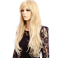 Synthetic Wig Straight Style Capless Wig Blonde Blonde Synthetic Hair Women's Blonde Wig Long Natural Wigs