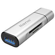 USB 3.0 C típusú USB kábeladapter Minden egyben 41642.0 Nagy sebesség OTG Kompatibilitás MacBook Pro Macbook 6.8 cm Alumínium