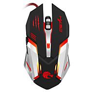 profissional com fio mouse de jogo 5500dpi ajustável 6 botões de cabo usb optical gamer mouse ratos para pc laptop