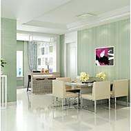 Linjer / bølger Tapet til Hjemmet Moderne / Tidsriktig Moderne / Nutidig Tapetsering , U-vevet stoff Materiale selvklebende nødvendig
