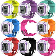 billiga Smart klocka Tillbehör-Klockarmband för Forerunner 10 Garmin Sportband Gummi Handledsrem