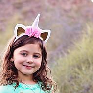 Ukrasi za kosu Dječji - Sva doba 34% Wool38% Pamuk 28% Ramine Kosa Kravata - Zlato Pink Red Blushing Pink Fuksija