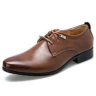 baratos Sapatos Masculinos-Homens Sapatos formais Couro Ecológico Outono / Inverno Oxfords Preto / Marron / Festas & Noite / Tachas / Festas & Noite / Sapatos de vestir