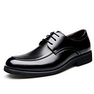 Χαμηλού Κόστους Imbettuy®-Ανδρικά Τα επίσημα παπούτσια Δέρμα Φθινόπωρο / Χειμώνας Δουλειά / Ανατομικό Oxfords Μαύρο / Καφέ / Γάμου / Πάρτι & Βραδινή Έξοδος