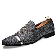 Masculino sapatos Micofibra Sintética PU Primavera Outono Inovador Mocassim Sapatos de mergulho Mocassins e Slip-Ons Tachas Para Casual