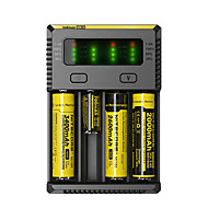Nitecore NEW-i4 Battery Charger Universal Smart Portable Professional High Quality Double Speed ACD Technology
