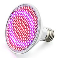 8W E26/E27 LED-vækstlampe 200 SMD 3528 800-850 lm Rød Blå V 1 stk.