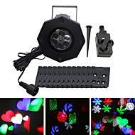 YWXLight® IP65 Waterproof EU US UK Plug 6W Snowflake Projector Light Holiday Decoration