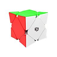 Rubiks terning 0934C-8 Alien Skewb Skewb Cube Let Glidende Speedcube Magiske terninger Puslespil Terning Plastik Kvadrat Gave
