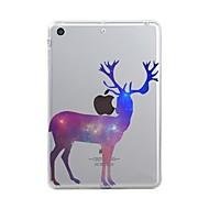 Etui Til Apple / iPad Air / iPad Air 2 iPad (2017) Transparent / Mønster Bagcover Jul Blødt TPU for iPad Air / iPad 4/3/2 / iPad Mini 3/2/1