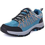 tanie Small Size Shoes-Męskie Komfortowe buty PU Wiosna / Jesień Buty do lekkiej atletyki Turystyka górska Zieleń wojskowa / Niebieski / Khaki