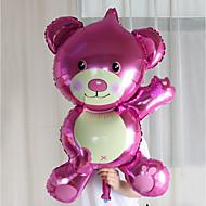 ylimitoitettu karhu folio ilmapallot syntymäpäiväjuhla häät avioliitto huone sisustettu hääpuku alumiini ilmapalloja