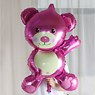 oversized bear foil balloons festa de aniversário casamento casamento quarto decorado vestido de noiva balões de alumínio