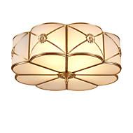 amerikansk hele kobber kuppel lys rundt soverommet lys kontrakterte europeiske restauranter balkong veranda lys kobber lamper og lanterner