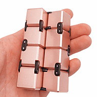 إنفينيتي، مكعب فيدجيت تويس مكعبات سحرية ألعاب تربوية مخفف الضغط بدعة المعدنية بلاستيك 1pcs قطع صبيان للأطفال للبالغين هدية