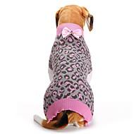Χαμηλού Κόστους Προμήθειες για κατοικίδια-Γάτα Σκύλος Παλτά Πουλόβερ Χριστούγεννα Ρούχα για σκύλους Ζώο Ροζ Spandex Βαμβάκι/Μείγμα Λινού Στολές Για κατοικίδια Πάρτι Καθημερινά