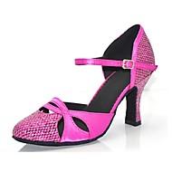 baratos Sapatilhas de Dança-Mulheres Sapatos de Dança Moderna Glitter Sandália / Salto Gliter com Brilho / Presilha Salto Personalizado Personalizável Sapatos de
