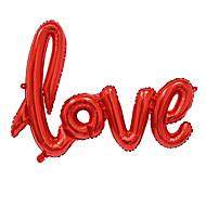 big size liefdesbrieven folie ballon romantische mylar mooie ballonnen